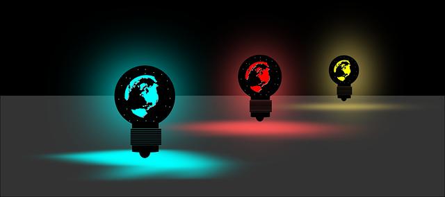 tři žárovky